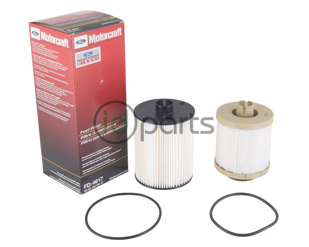 medium resolution of fuel filter set for the 2008 2010 ford powerstroke 6 4l engine contains both the top mounted and frame mounted fuel filter