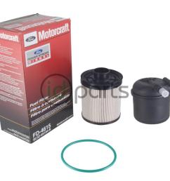 fuel filter 6 7l bc3z 9n184 b fd4615 idparts comfuel filter kit for the [ 1000 x 800 Pixel ]
