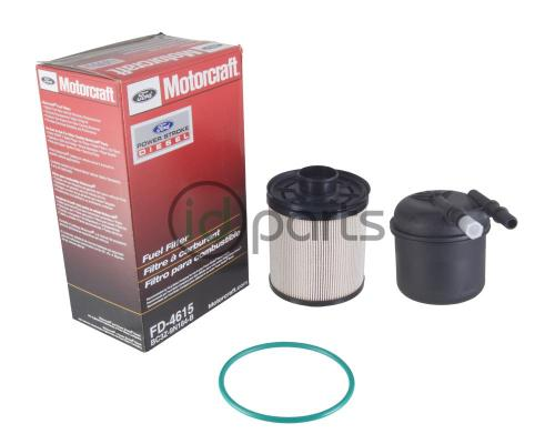 small resolution of fuel filter 6 7l bc3z 9n184 b fd4615 idparts comfuel filter kit for the