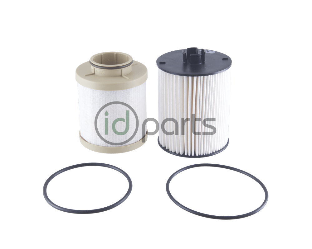 medium resolution of fuel filter set for the 6 4l powerstroke diesel engine used in the ford super duty pickup