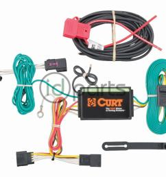 a curt custom wiring harness also called a t connector is a simple plug and play electrical device that eliminates the need for cutting splicing and  [ 1000 x 800 Pixel ]