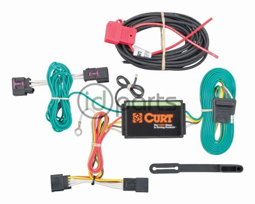 small resolution of a curt custom wiring harness also called a t connector is a simple plug and play electrical device that eliminates the need for cutting splicing and