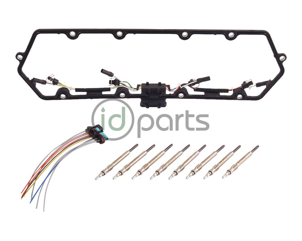 Ford 7.3L Powerstroke Glow Plug and Harness Kit F81Z6584AA