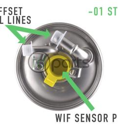 01 style fuel filter for mercedes diesel models including models equipped with the om647 om648 and some models with the om642 diesel engine  [ 1000 x 800 Pixel ]