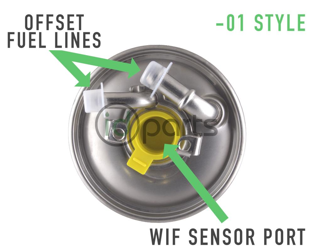 medium resolution of  01 style fuel filter for mercedes diesel models including models equipped with the