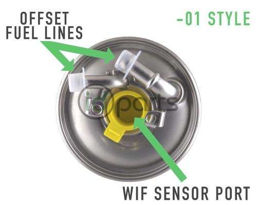 small resolution of  01 style fuel filter for mercedes diesel models including models equipped with the
