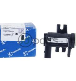 volkswagen tdi pressure converter for the turbo also known as n75 valve or wastegate solenoid fits vw jetta tdi golf tdi and new beetle tdi on the a4  [ 1000 x 800 Pixel ]
