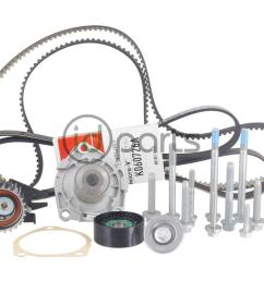 complete 100 000 mile timing belt kit for the 2014 2015 chevrolet cruze diesel this kit includes all the timing belt components and hardware to complete  [ 1000 x 800 Pixel ]