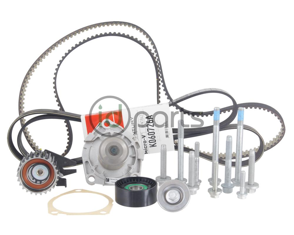 medium resolution of complete 100 000 mile timing belt kit for the 2014 2015 chevrolet cruze diesel this kit includes all the timing belt components and hardware to complete