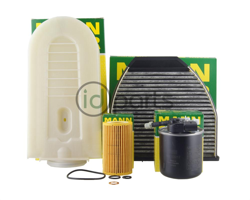 hight resolution of complete filter pack for the 2014 mercedes e250 bluetec with the 2 1l om651 diesel engine includes