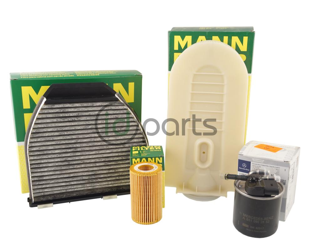 hight resolution of glk250 filter pack complete 6511800109 idparts comincludes oil filter fuel filter air filter and