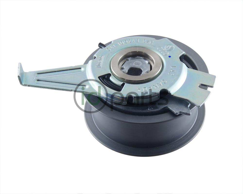 medium resolution of oem timing belt tensioner from volkswagen for the 2015 cvca and crua engine codes
