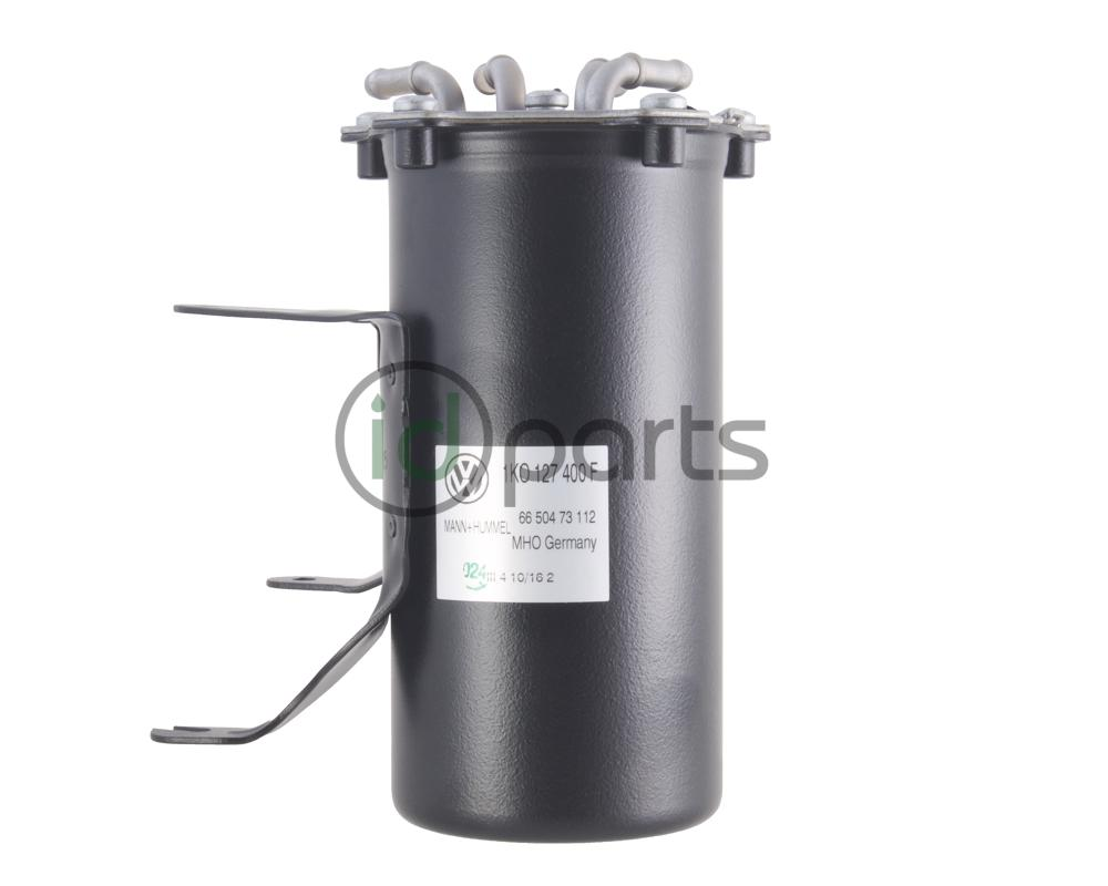 hight resolution of fuel filter housing assembly for cbea and cjaa engine codes includes new fuel filter