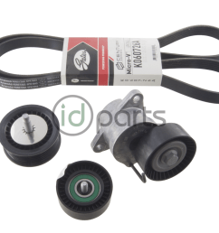 full serpentine belt kit for the gen1 chevy cruze with the 2 0l diesel engine  [ 1000 x 800 Pixel ]