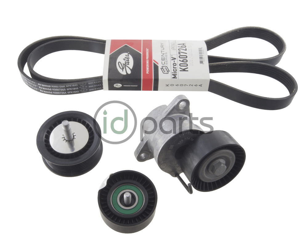 medium resolution of full serpentine belt kit for the gen1 chevy cruze with the 2 0l diesel engine