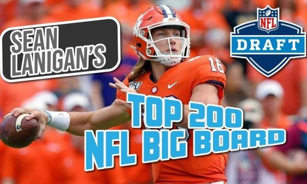 2021 NFL Draft Top 200 Big Board