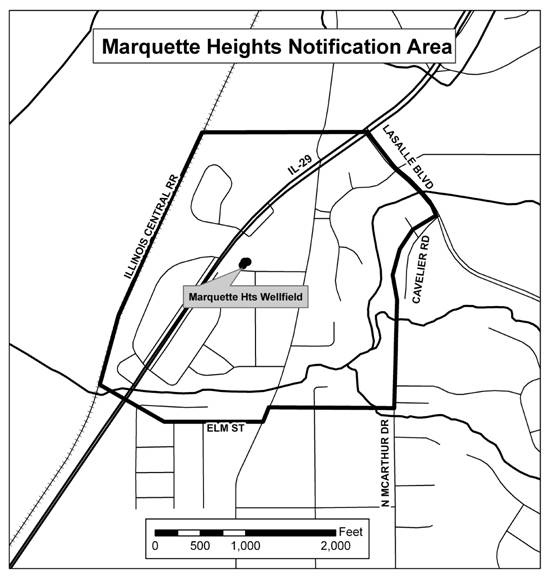 Testing Recommended for Marquette Heights Wells