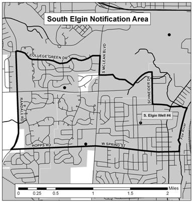 State Recommends Testing of South Elgin Wells