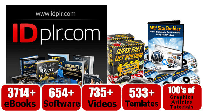 Instant Access To Over 5787+PLR Products