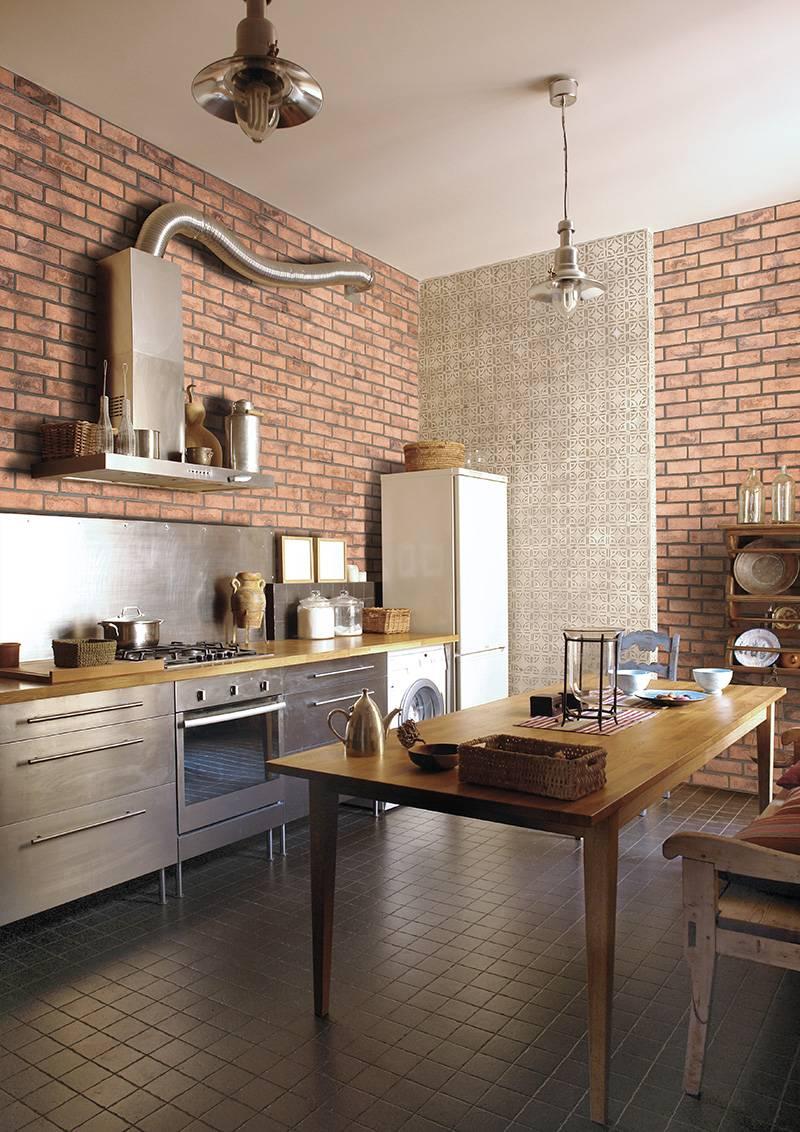Briques imitation pierre pour murs intrieurs Eguilles