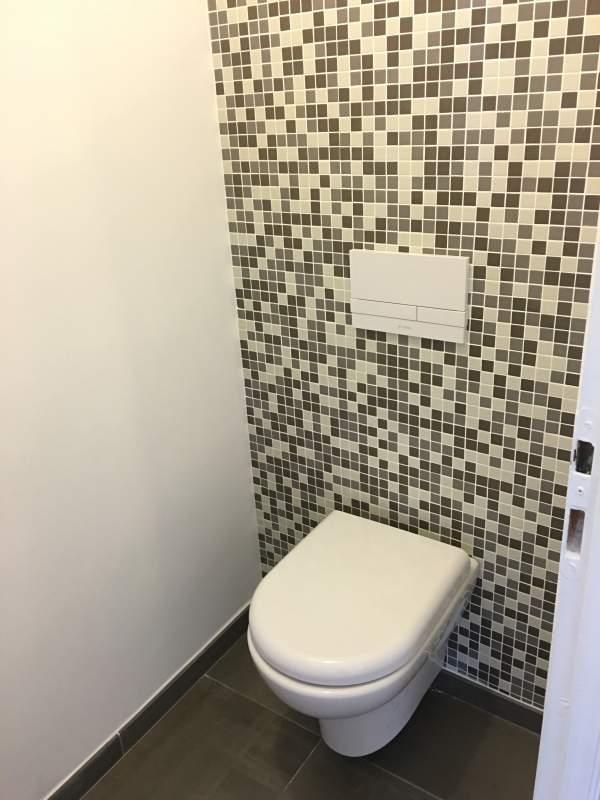Bti WC carrel en mosaque  Carrelage intrieur et extrieur  Eguilles  salle bain cuisine