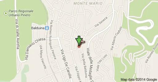 Mappa Balduina  Idraulico Roma 3892456452  Pronto Intervento