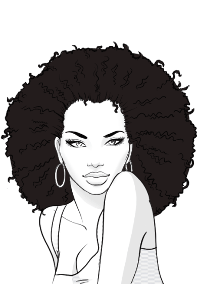 How-to-draw-afro-hair-in-fashion-design-sketches-step-8
