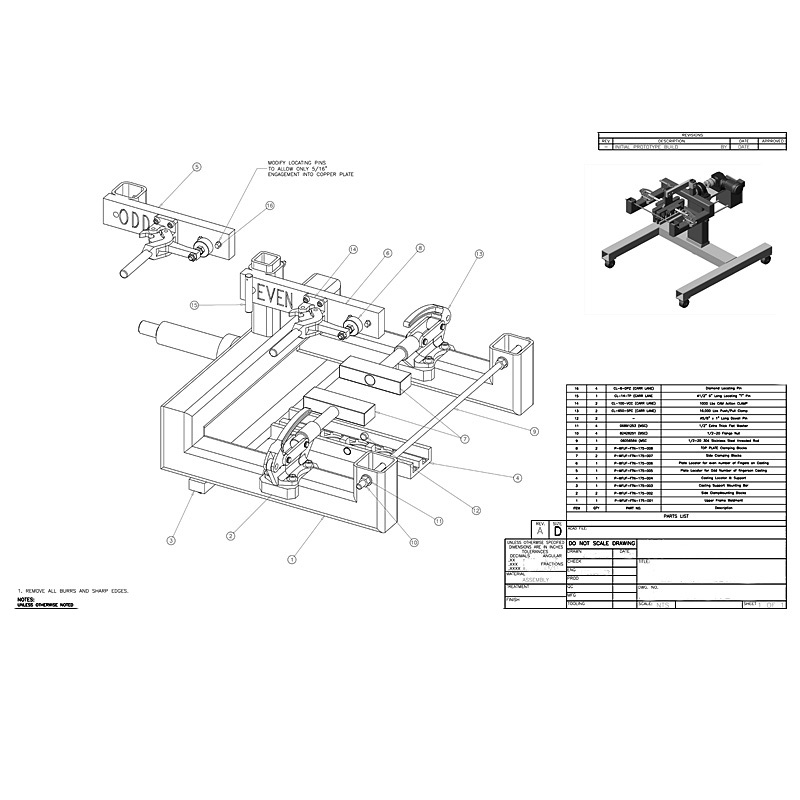 Mechanical Drawings