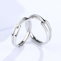 cute silver rings images