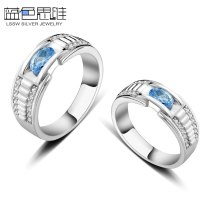 Blue Topaz Wedding Ring Sets - Image Wedding Ring Imagemag.co