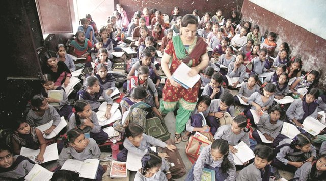Lack of classrooms in Govt Schools