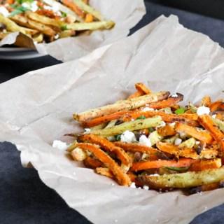 Baked Seasoned Sweet Potato Fries