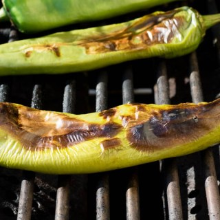 Roasting Hatch Green Chilies (and Freezing)