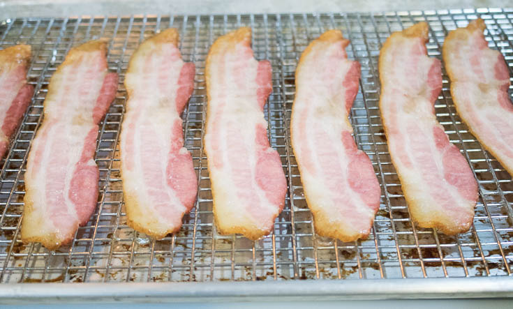 Perfect Bacon Cooked in the Oven