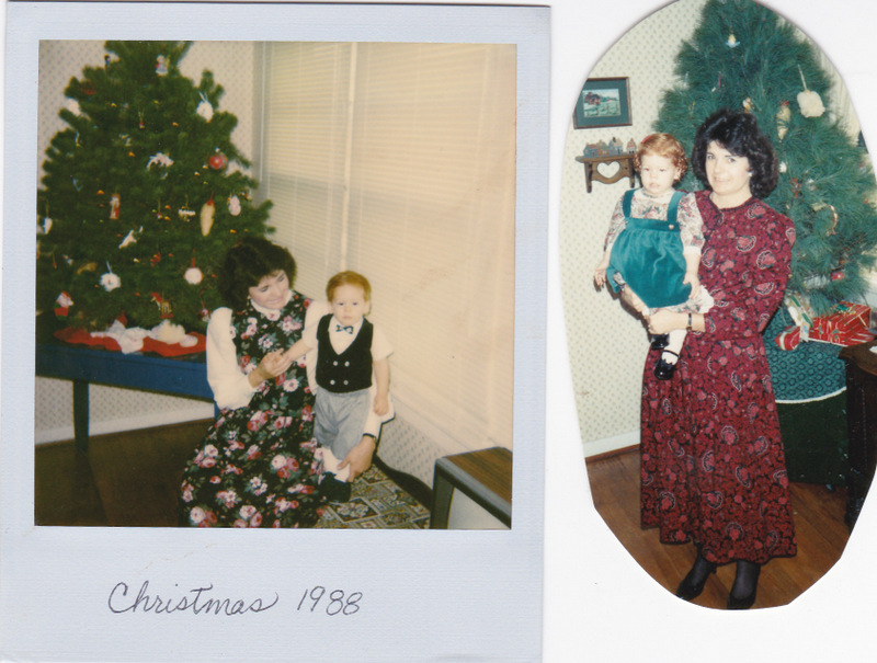 Blog Kristoffer and Rebecca in Christmas outfits