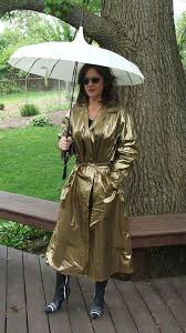 raincoat gold one