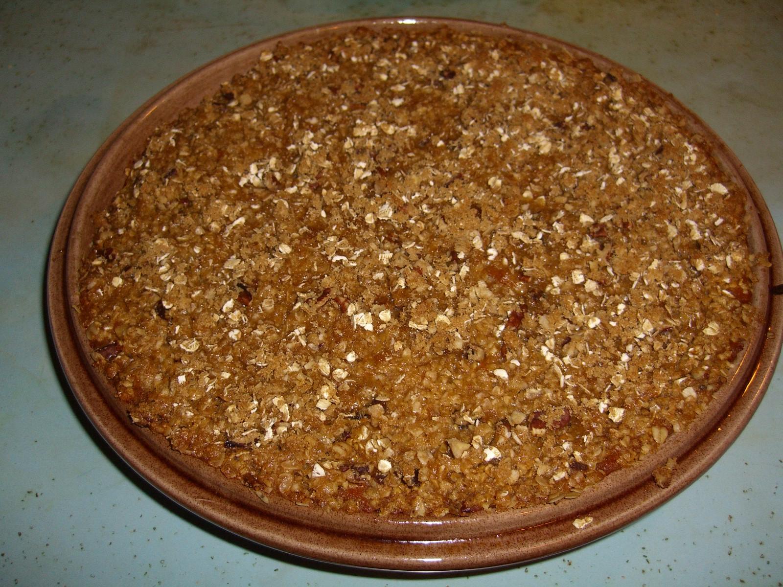 crustless pumpkin pie 003