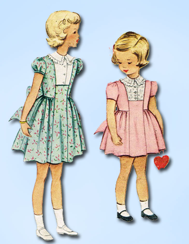 Blog 1950's girls patten for blog