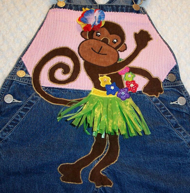 hula monkey half shot 1