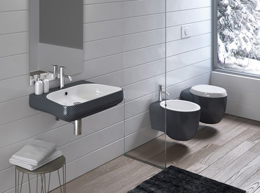 Sanitari ceramica Stile sanitari carbon sanitari chrome