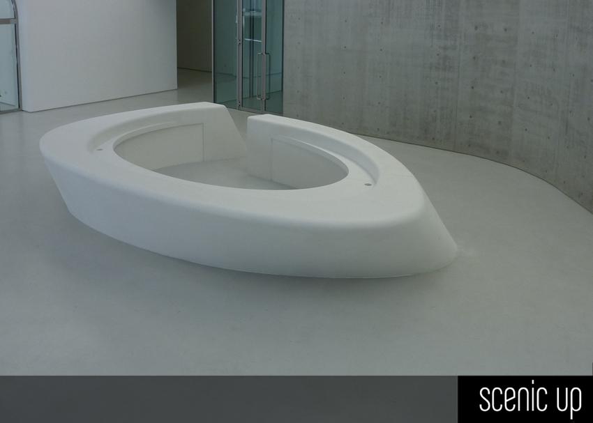 Bancone Reception per Museo MAXXI  Arch Zaha Hadid  Scenic Up  Soluzioni per Architettura e