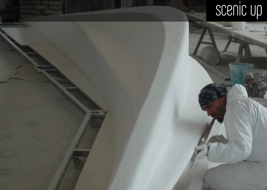 Panchine per Museo Maxxi  Arch Zaha Hadid  Scenic Up  Soluzioni per Architettura e Design