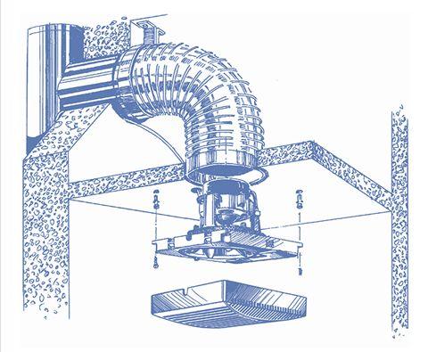 Blauberg Brise 100 estrattore aria silenzioso per piccoli