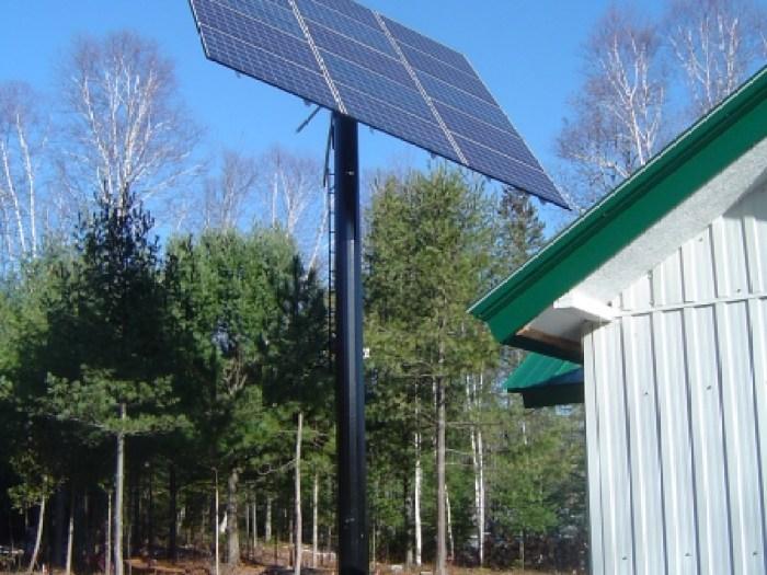 Maison Richer Saint-Mathieu-du-Parc, 2012 - 4300w de panneaux solaires connectés au réseau