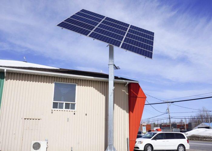 Pointeur test - IDS Énergie, Trois-Rivières
