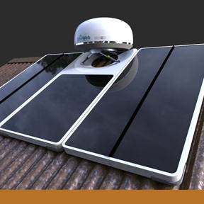 OneWeb User Terminal and Solar Array  Industrial