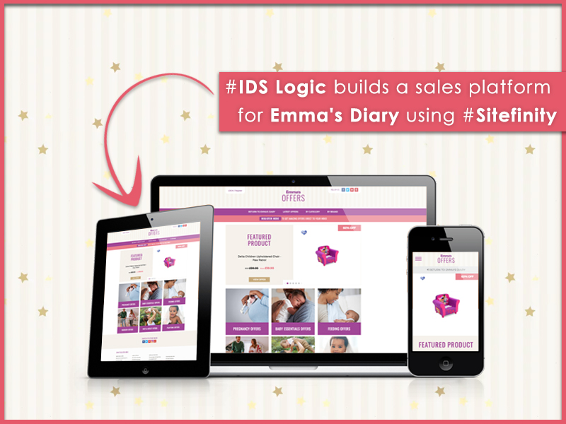 IDS Logic Helps Emma's Diary Develop a Sales Platform Offering Varied Pregnancy and Baby Products