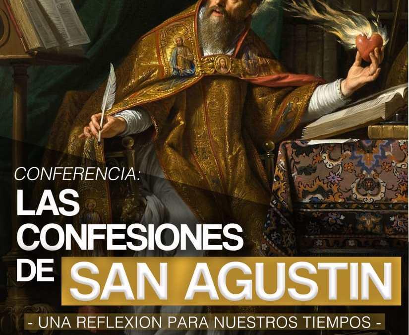 Conferencia: Las confesiones de San Agustín