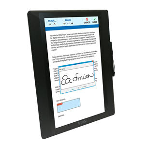 Topaz Electronic Signature Pads | Top Distributor in Africa