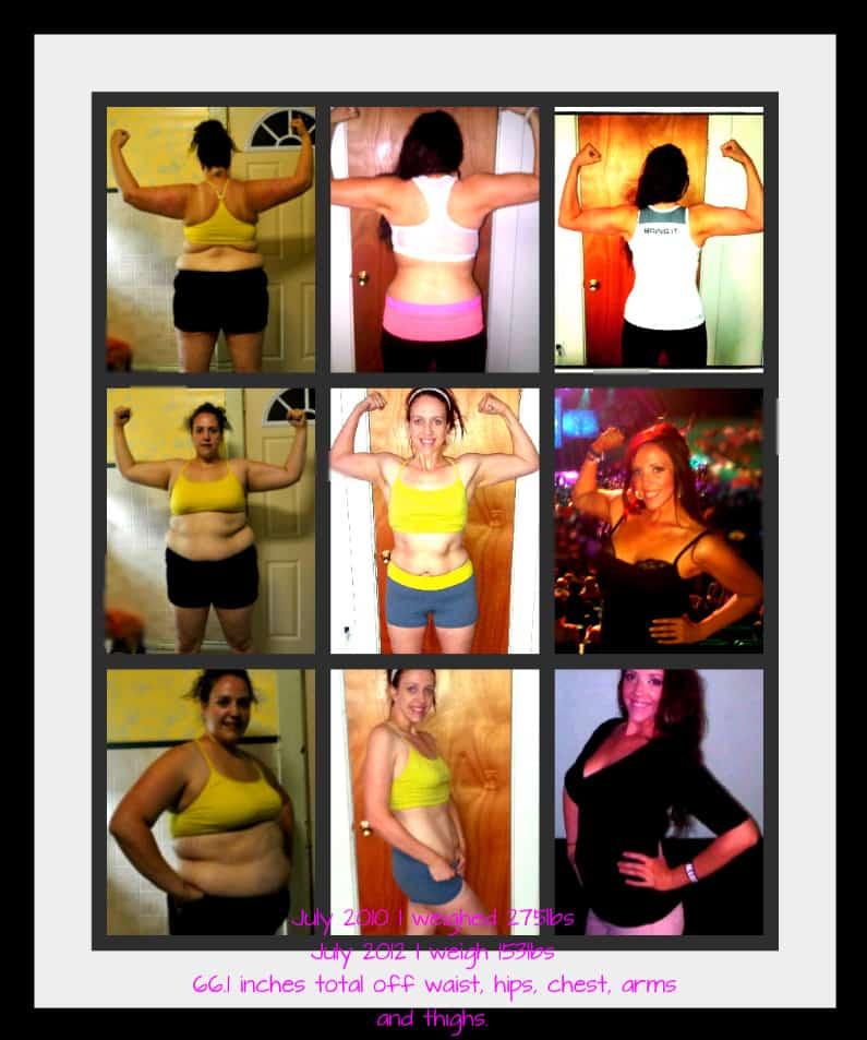 Kathy Haan 123 Lb weightloss transformation